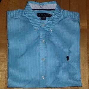 U.S. Polo Assn. Men's Short Sleeve Shirt, XL